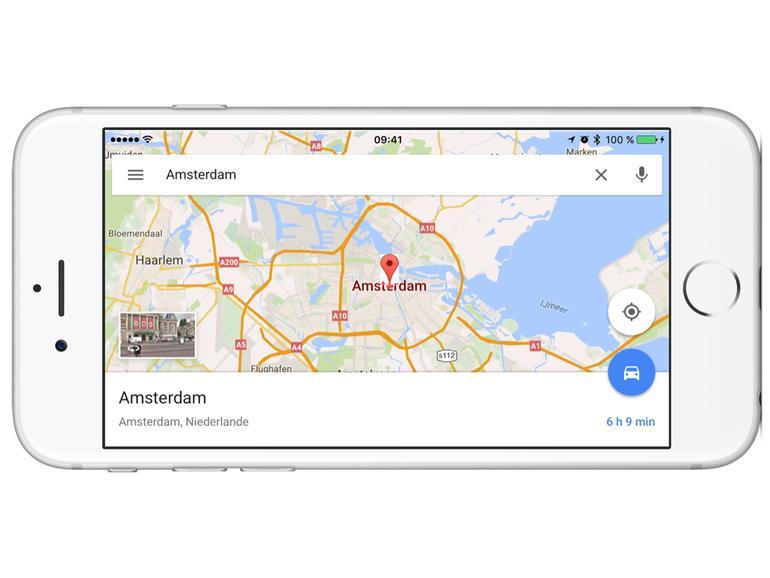 So nutzen Sie die Offlinekarten von Google Maps am iPhone