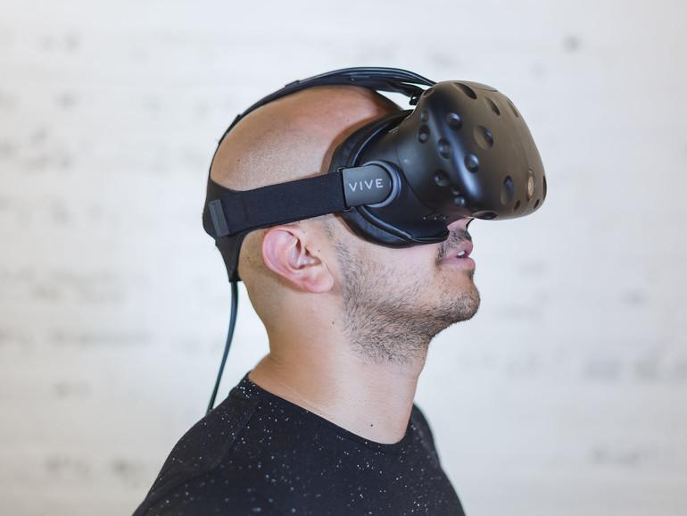 Virtual-Reality-Headset HTC Vice