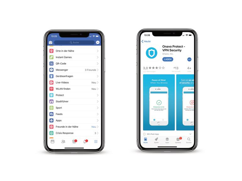 Der neue Menüeintrag führt direkt in den App Store