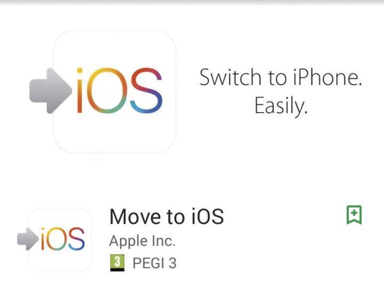 """3 Laden Sie """"Move to iOS"""" aus dem Google Play Store und starten Sie die App. Tippen Sie auf Ihrem iPhone auf """"Weiter"""". Ihnen wird ein Code angezeigt. Geben Sie diesen auf Ihrem Android-Gerät ein."""
