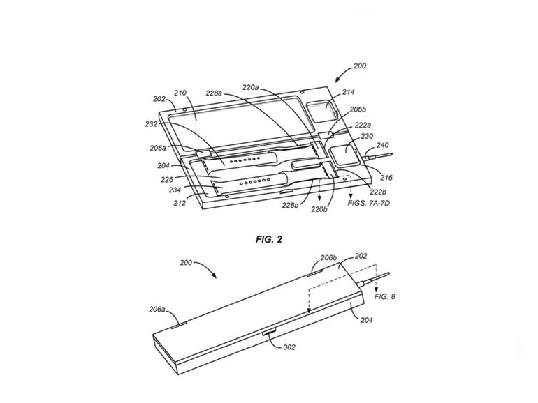 Neues Patent zeigt Ladecase für Apple Watch und Armbänder
