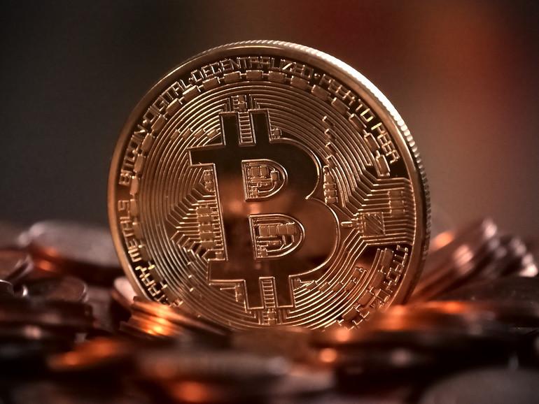 Darstellung zur Kryptowährung Bitcoin