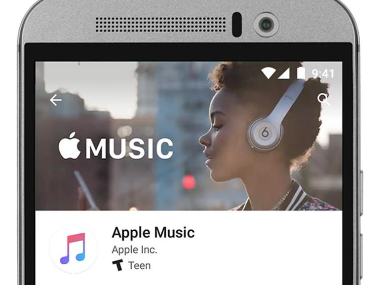 Apple Music auf einem Android-Smartphone installieren