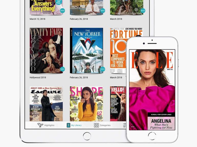 Texture ist u.a. für das iPhone und iPad erhältlich.