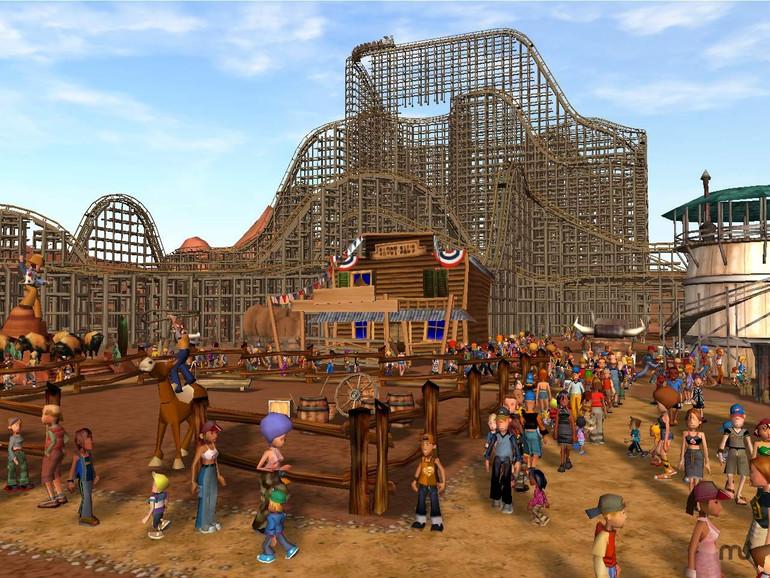 Screenshot aus Rollercoaster Tycoon 3 für Mac