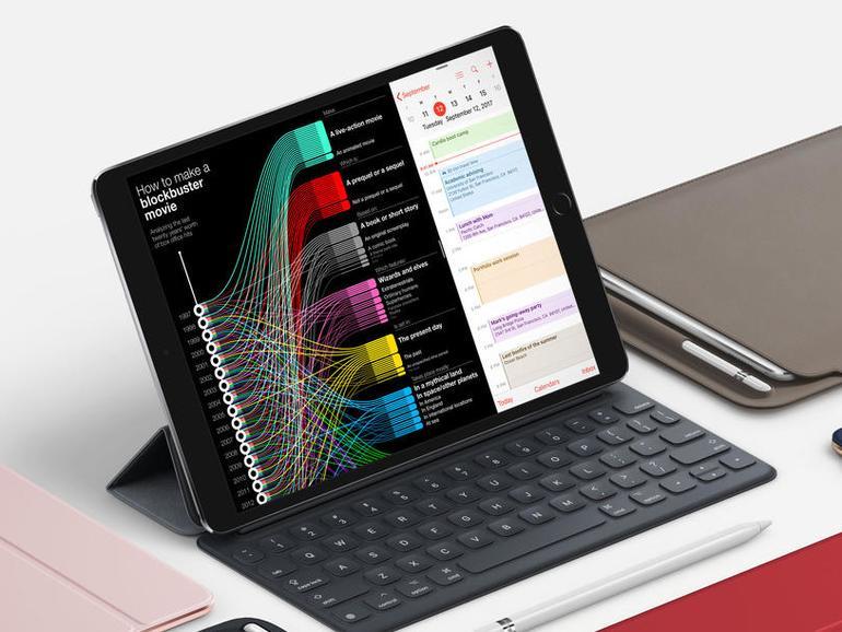 Das iPad Pro aus Apples Werbung
