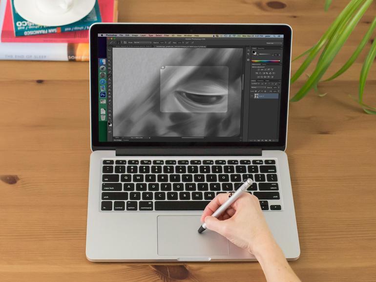 Mit Inklet verwandelt man Apples Trackpads in Grafiktabletts, die man mit dem Finger oder Stylus bedient.