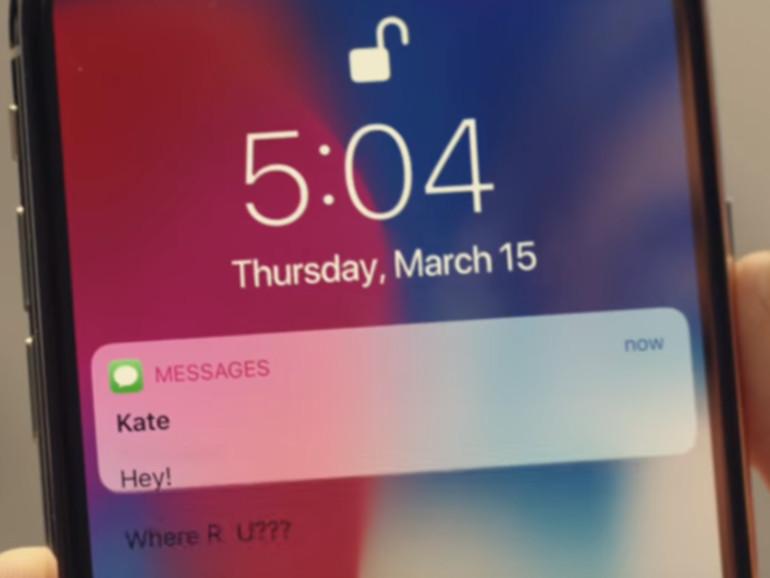 Apple zeigt in Werbung aus Versehen Sperrbildschirm-Bug