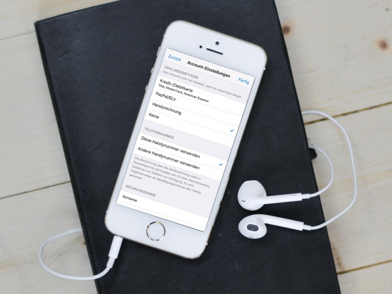 Telekom: In Apples App Store per Handyrechnung bezahlen