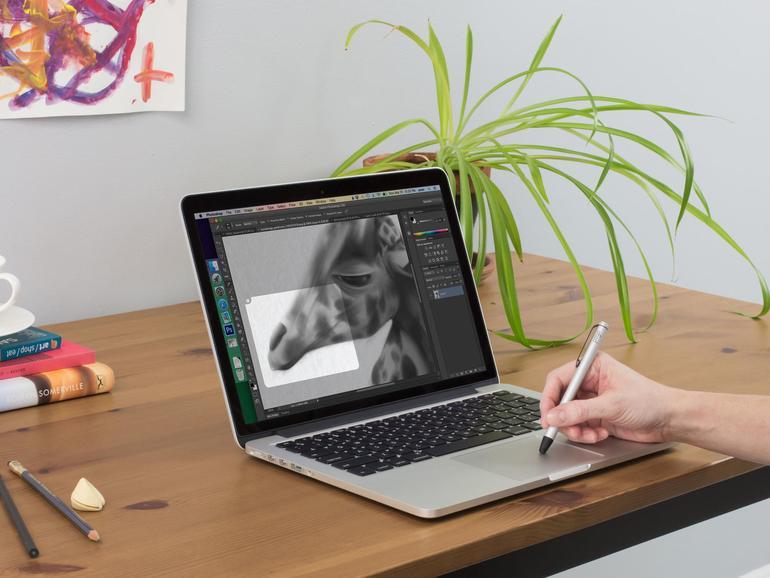 Einen Stylus können Sie auch auf Apples Magic Trackpad einsetzen