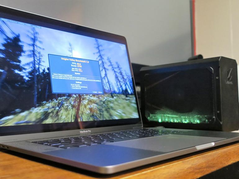 eGPU am MacBook Pro