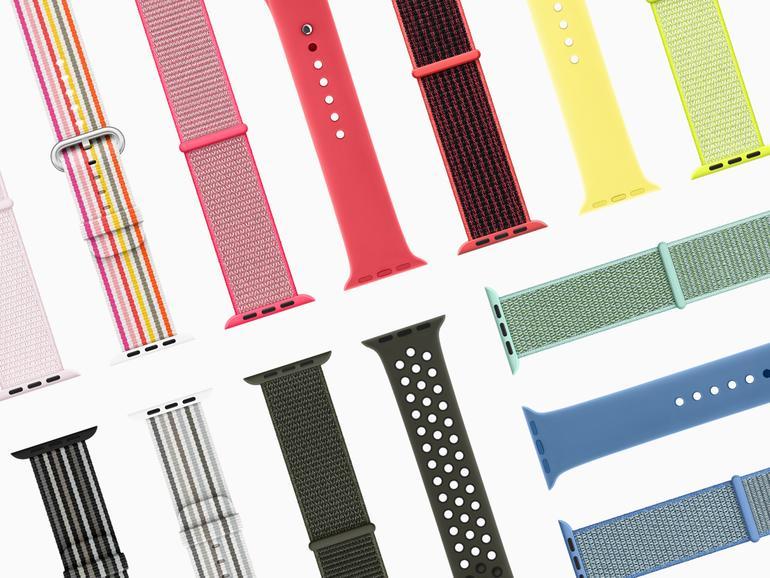 Neue Farben fürs Handgelenk: Frühlingskollektion von Apple Watch Armbändern