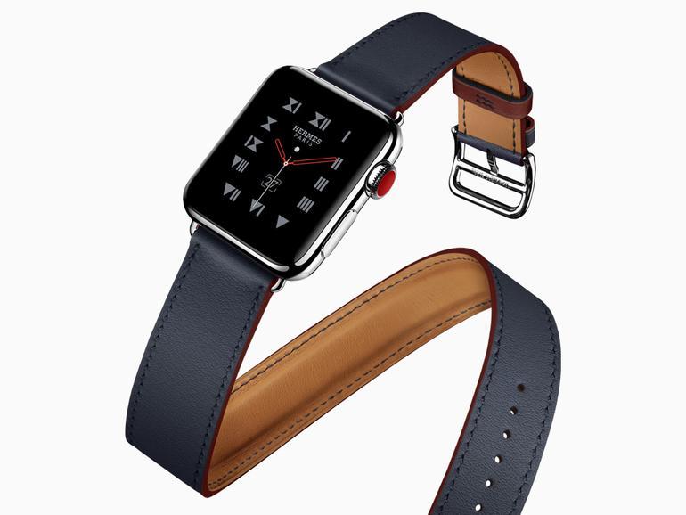 Neues Armband für die Apple Watch von Hermès