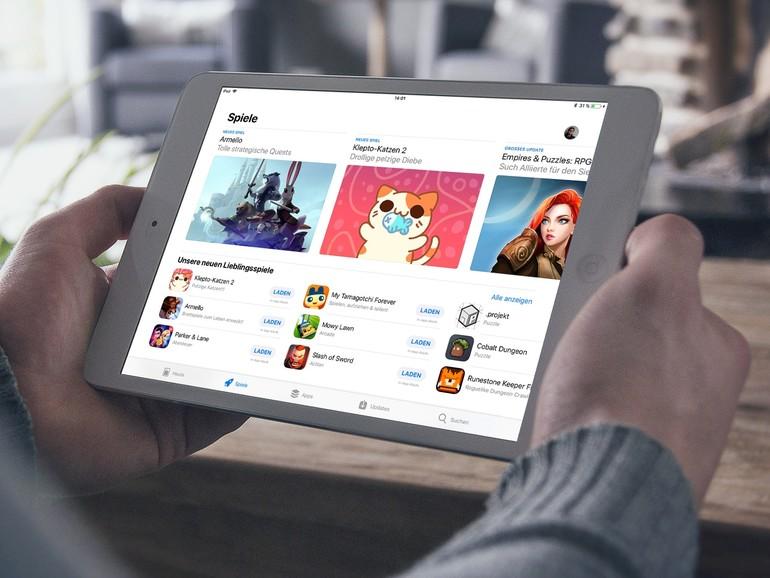 Der neue App Store rückt Spiele noch weiter in den Fokus