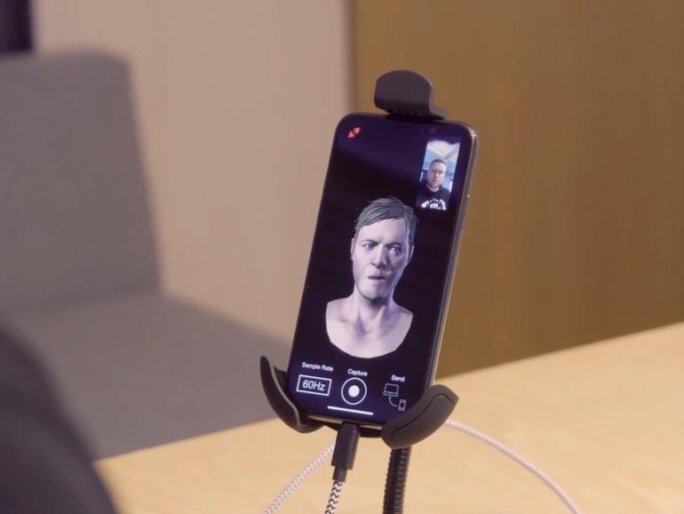 Für die Animation von Gesichtern lässt sich die TrueDepth-Kamera wunderbar einsetzen