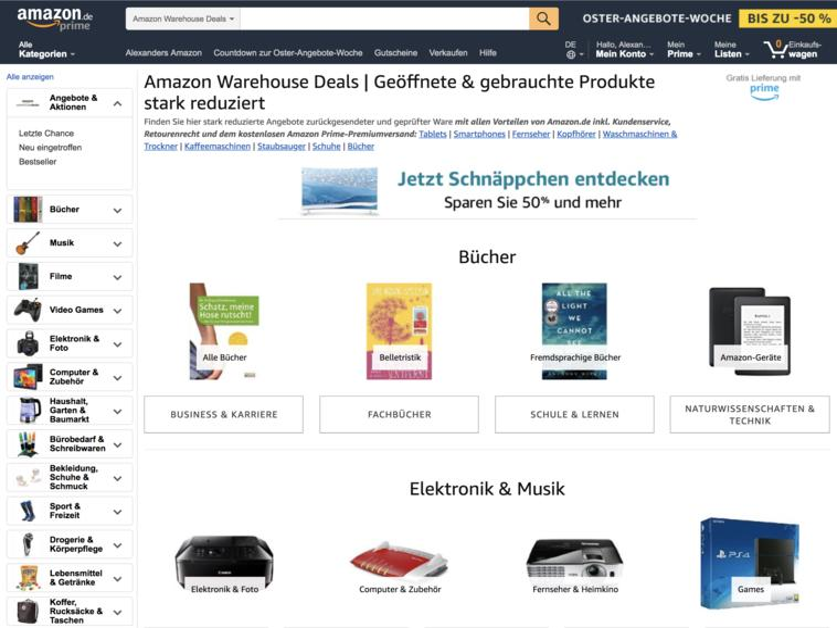 Amazon Warehouse Deals