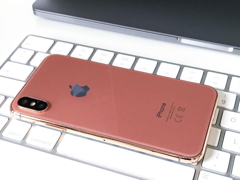 Plant Apple eine neue Farboption für das iPhone X?