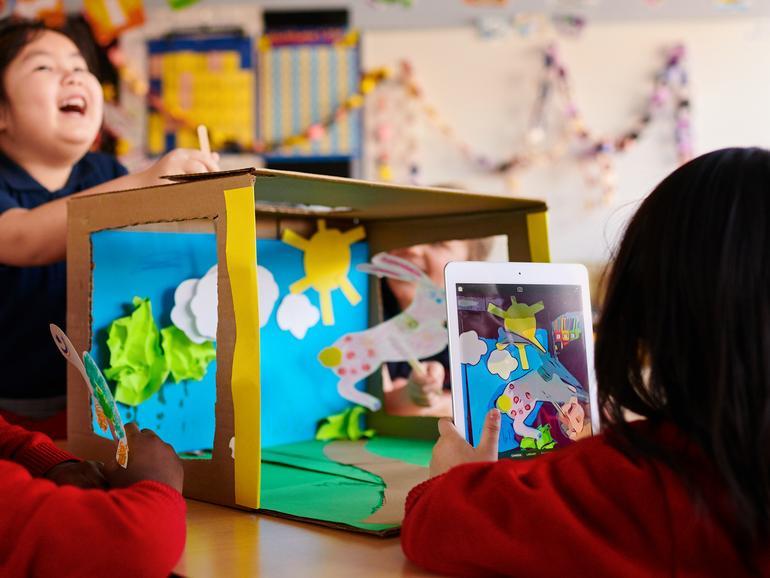 Apple legt mit dem neuen iPad einen Fokus auf die Kreativität