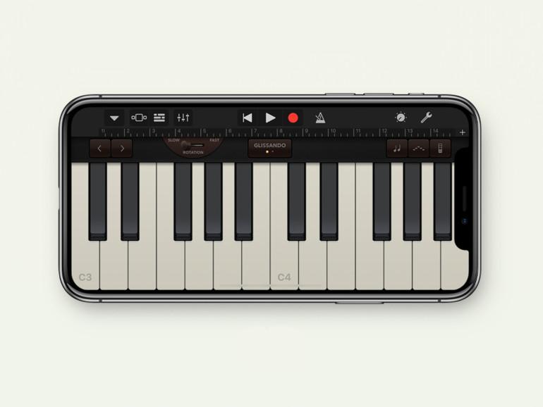 Auch Apples Musik-App GarageBand wurde heute aktualisiert
