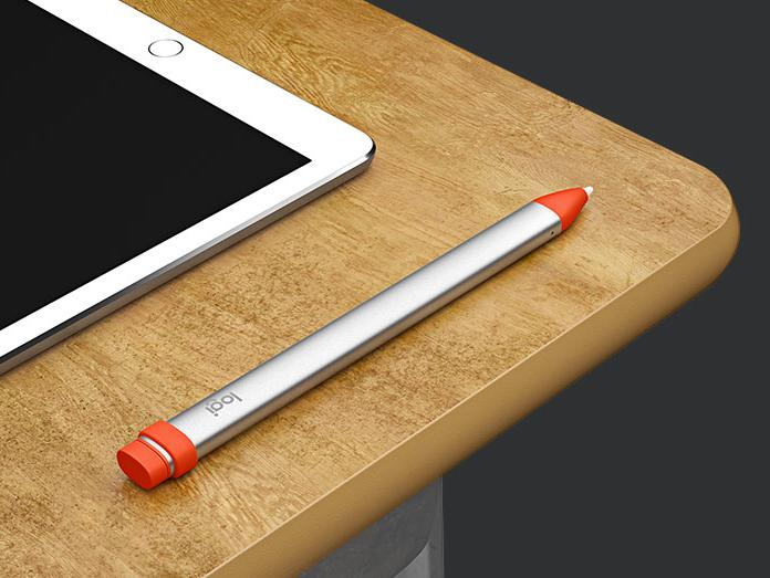Der Crayon unterscheidet sich im Design stark vom Apple Pencil