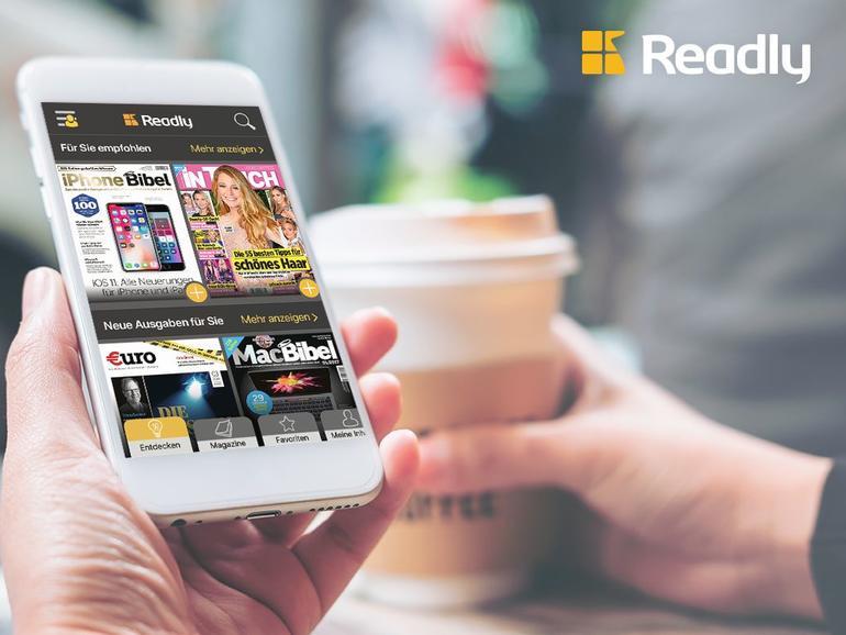 Zeitschriften-Flatrate von Readly: 3 Monate für nur 9,99 Euro testen