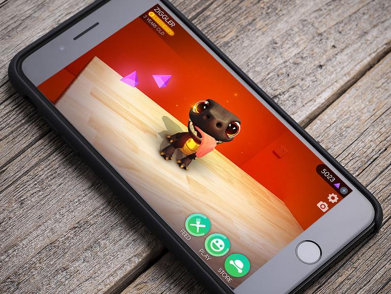 AR Dragon auf dem iPhone