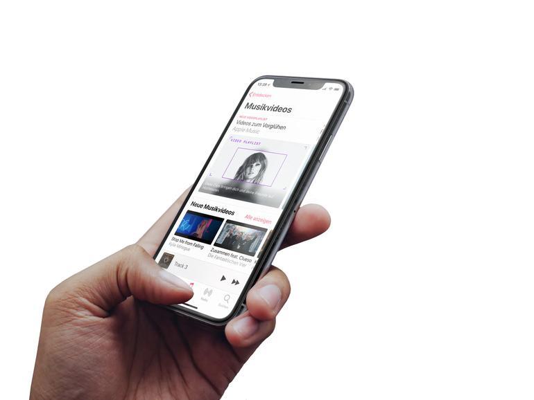 Apple Music jetzt mit eigenem Bereich für Musikvideos