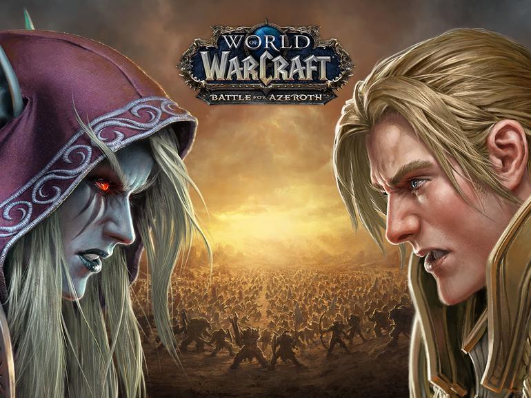 Battle for Azeroth heißt die kommende Erweiterung für World of WarCraft