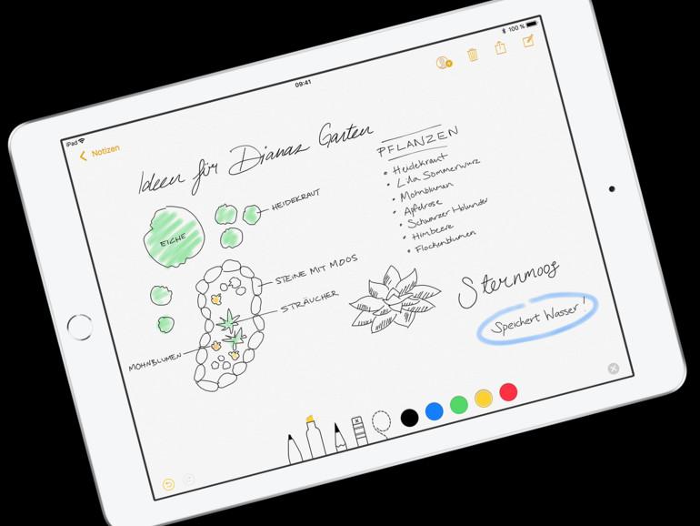 Wahre Kunstwerke werden auf dem iPad mit dem Apple Pencil möglich.