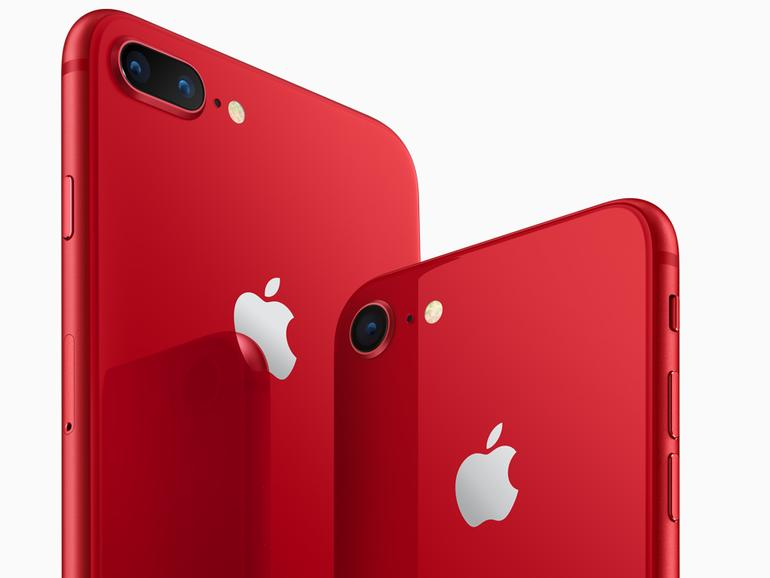 iPhone 8 und iPhone 8 Plus (PRODUCT)RED