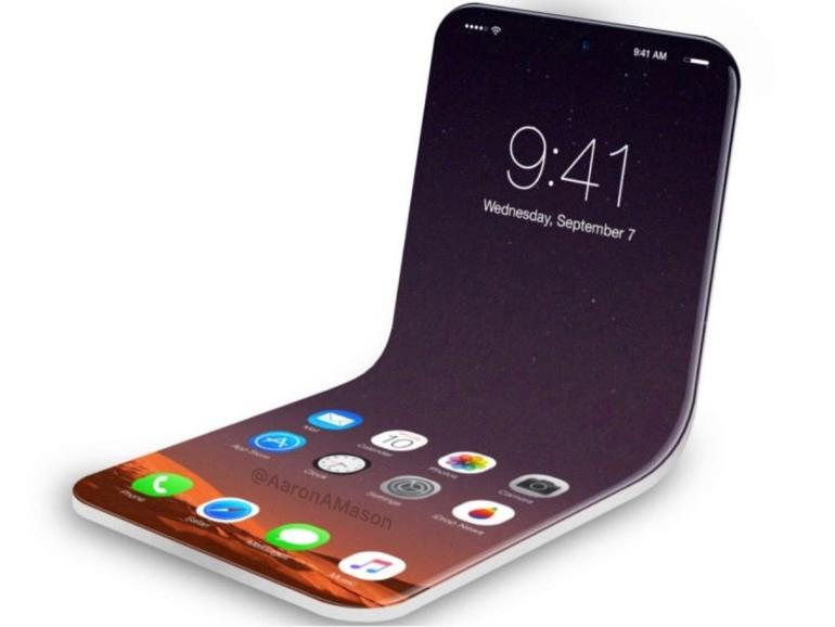 Könnte so ein faltbares iPhone ausschauen?