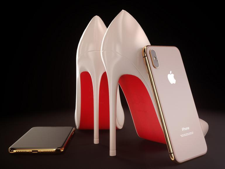 So hätte das iPhone X in Blush Gold aussehen können