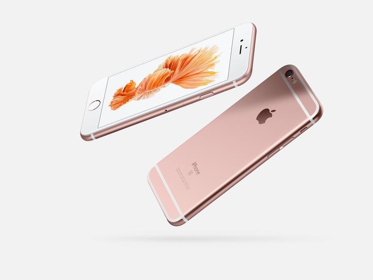 iPhone 6s Plus in Roségold