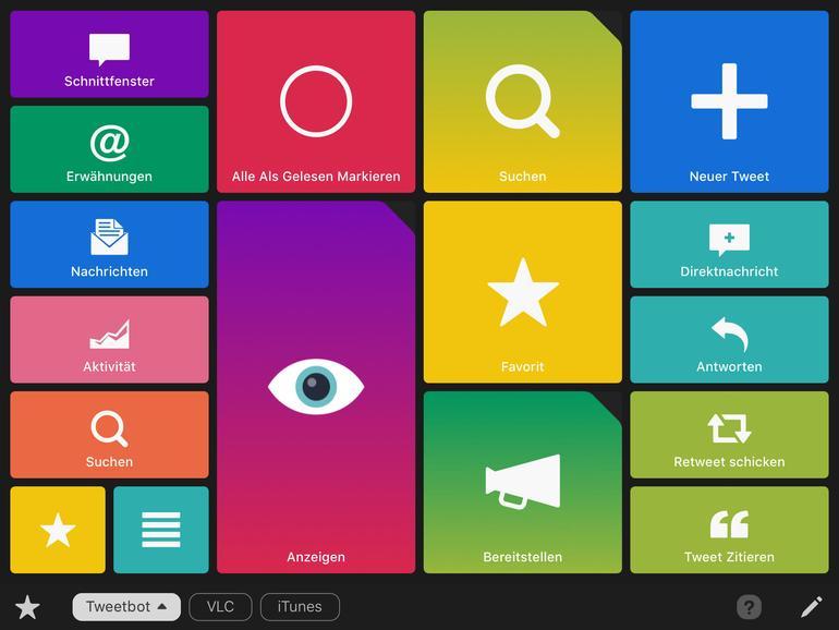 Quadro auf dem iPad