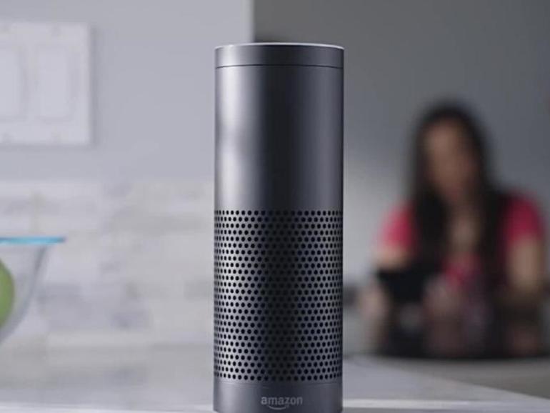 Amazon-Lautsprecher Echo mit Alexa