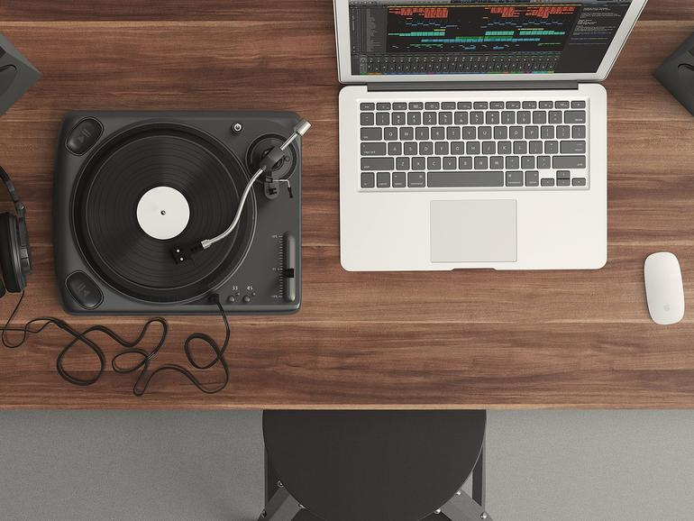 Musik machen am Mac
