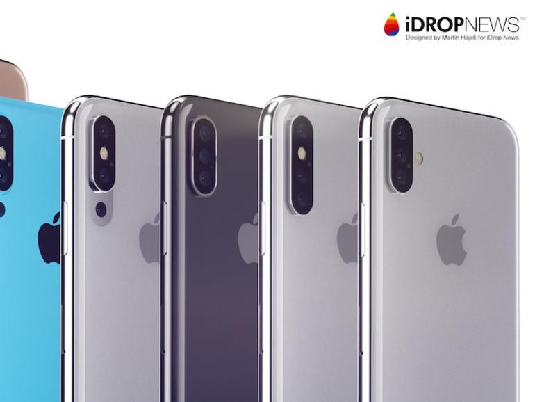 So könnte ein iPhone mit Triple-Kamera aussehen - Verschiedene Konzepte vorgestellt