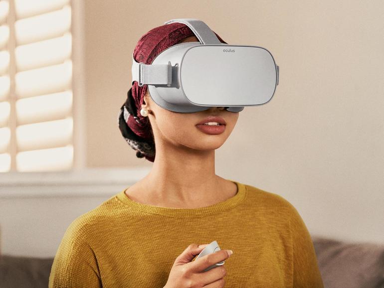 Mobiles VR-Headset Oculus Go nun für 219 Euro erhältlich
