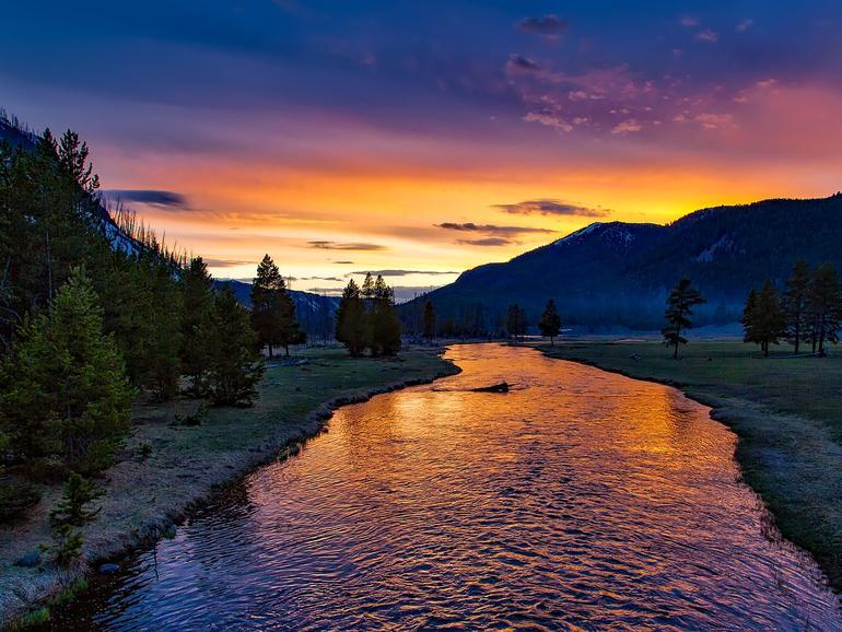 HDR-Foto aus dem Yellowstone-Park: Bewegtbilder können Sie nun am iPhone X mit der YouTube-App genießen