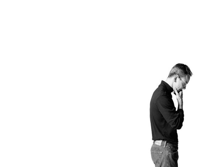 Michael Fassbender als Steve Jobs in dem Biopic aus dem Jahr 2015