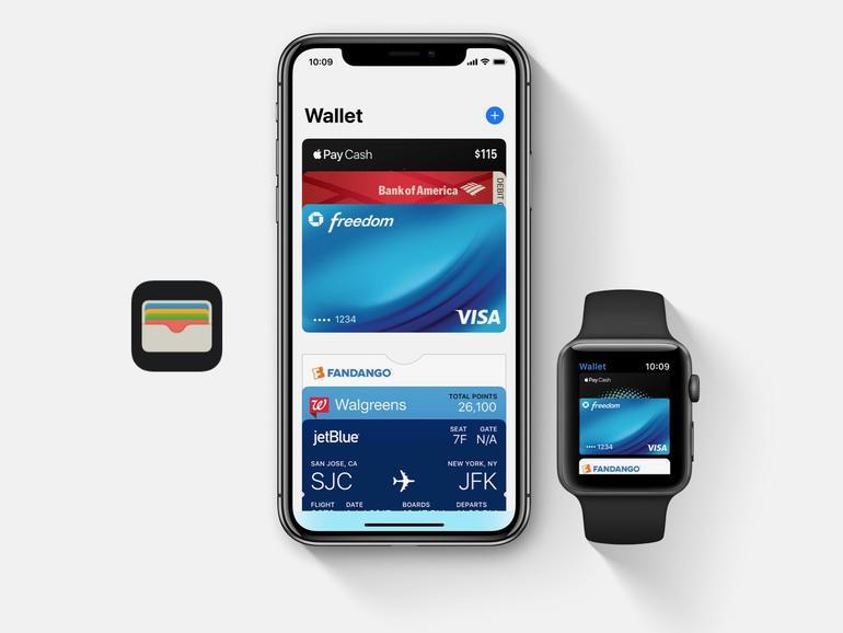 Apple Pay auf dem iPhone und der Apple Watch