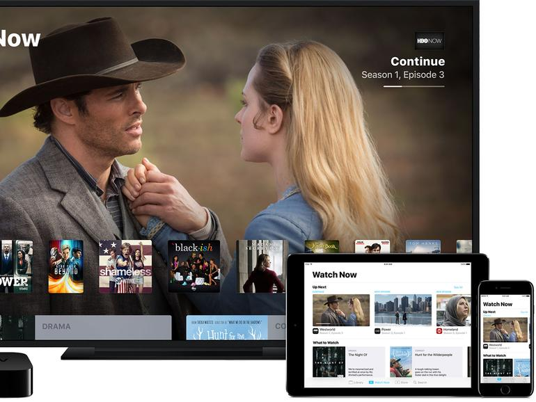 TV-App von Apple auf iPhone, iPad und dem Apple TV