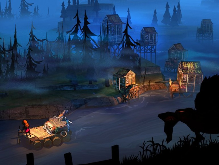 Screenshot aus The Flame in the Flood