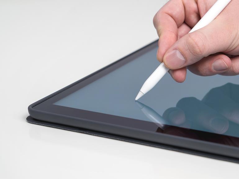 Apple Pencil auf dem iPad
