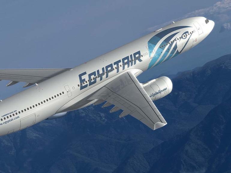 Flugzeug der Fluggesellschaft EgyptAir
