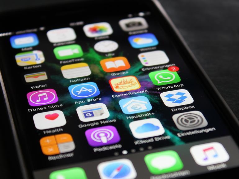 iOS auf dem iPhone