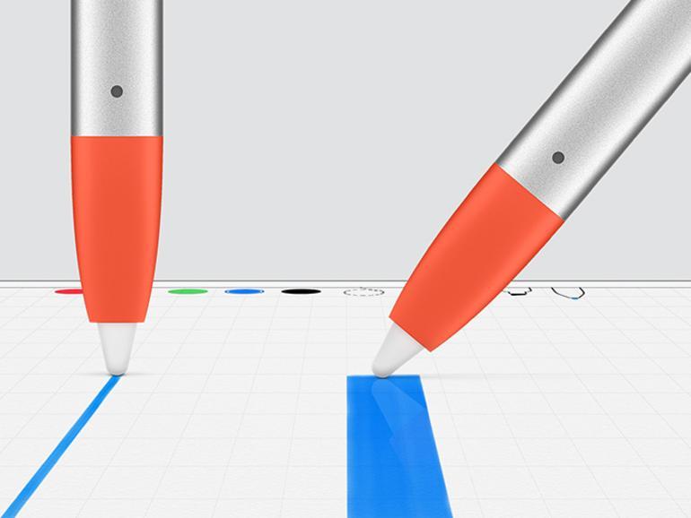Logitech Crayon Stylus fürs iPad der sechsten Generation