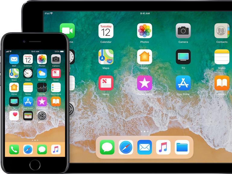 iOS 11 auf dem iPhone und iPad