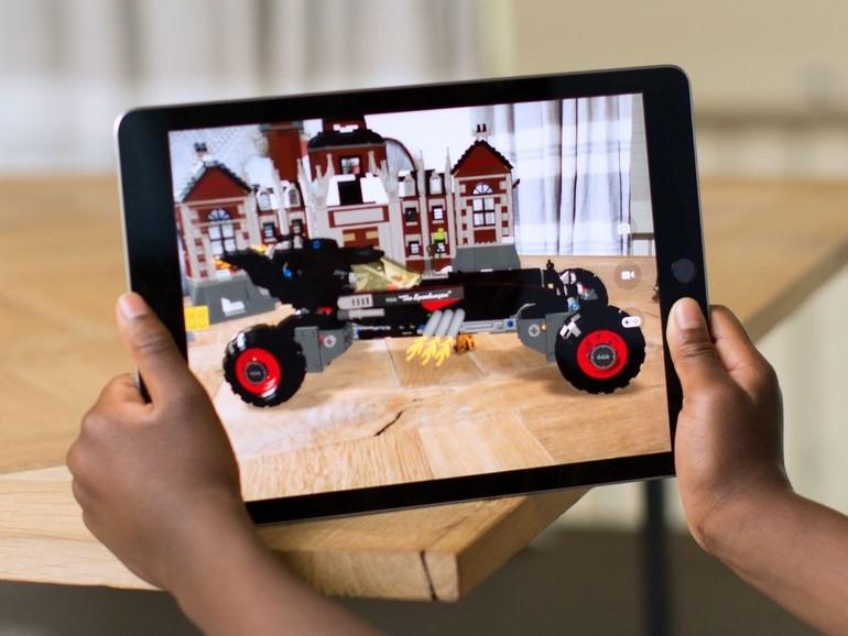 Eine ARKit-Anwendung auf dem iPad