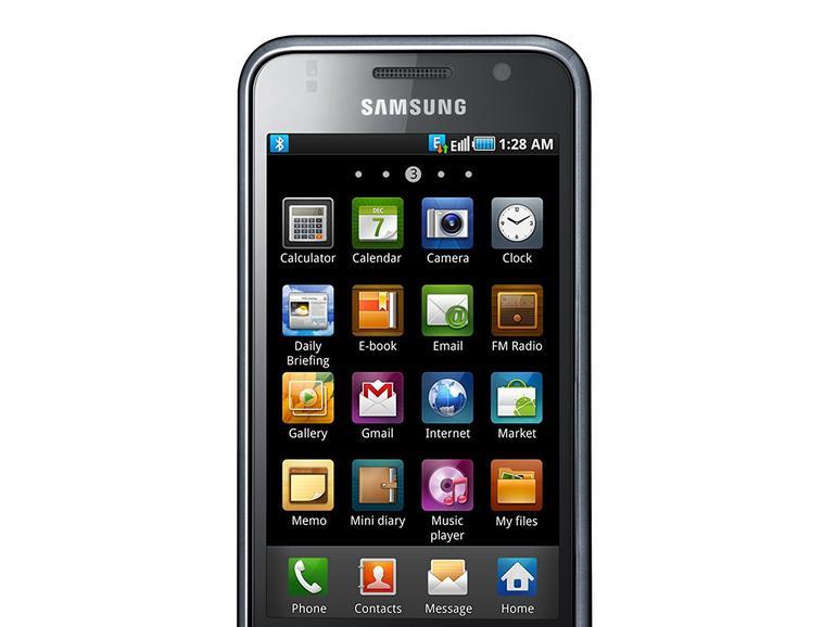 Eine gewisse Ähnlichkeit zum ersten iPhone kann Samsung beim Galaxy S von 2011 nicht bestreiten